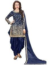 NINDOT Punjabi Patiyala Suit for Women Salwar Kameez Dress Party wear Mirror Work