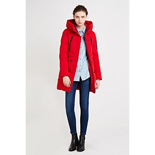 Lungo Cappotto Piumino Invernali Icebear Donna Inverno giacca WOZZ6g7xq