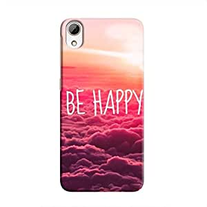 Cover It Up Be Happy Hard Case for HTC Desire 826 - Multi Color