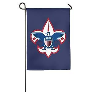 Boy Scouts de América decorativo colorido Mulitcolor casa bandera bandera