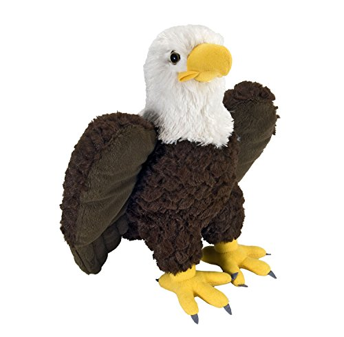 Wild Republic Bald Eagle Plush, Stuffed Animal, Plush Toy, G