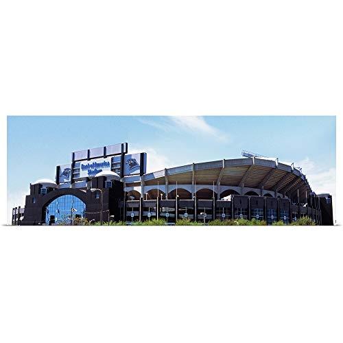 GREATBIGCANVAS Poster Print Entitled Bank of America Stadium, Charlotte, Mecklenburg County, North Carolina, USA by 48