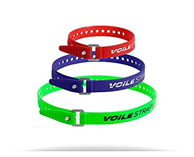 Voile Straps - Aluminum Buckle Variety Pack