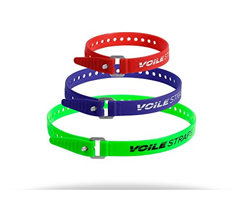 Voile Straps - Aluminum Buckle Variety Pack ()