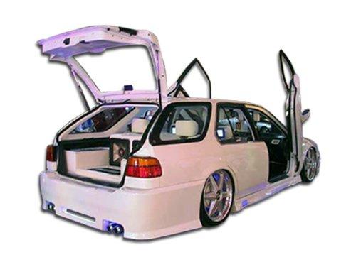 1990-1993 Honda Accord Wagon Duraflex Spyder Rear Bumper Cover - 1 Piece (Overstock)