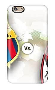 Hot AEZptwD6641iSeSf Barcelona Vs Ac Milan Tpu Case Cover Compatible With iPhone 4/4s