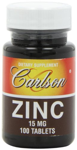 Карлсон Labs цинк, 15 мг, 100 таблеток