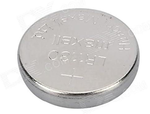 Maxell 1.5v Alkaline Lr1130 20 Pcs Ag10 Cell Button Batteries Set