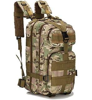 SolarM Outdoor Camping Adjustable Military Tactic Backpack Rucksacks Hiking Travel Bag Daypack Mochilas
