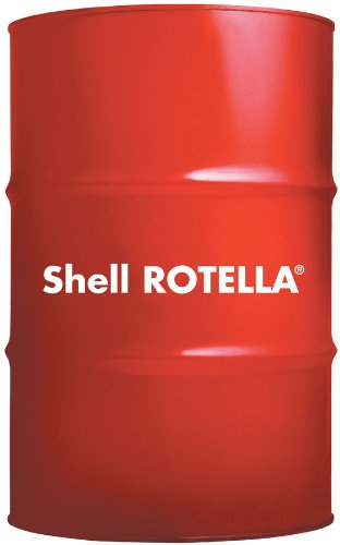 Shell Rotella T6 Full Synthetic Heavy Duty Engine Oil 5W-40, 55 Gallon Drum by Shell Rotella