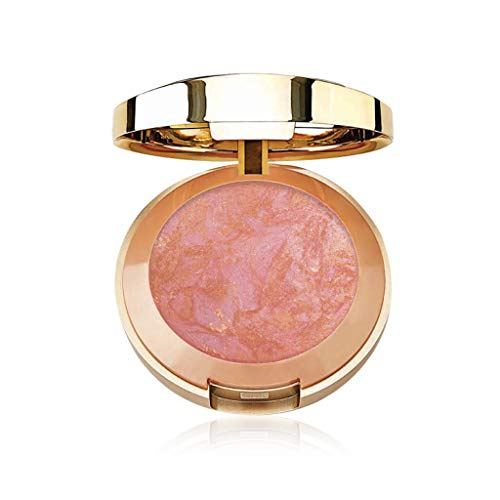 Milani Baked Blush - Berry Amore (0.12 Ounce) Vegan, Cruelty-Free Powder Blush - Shape, Contour & Highlight Face for a Shimmery or Matte Finish