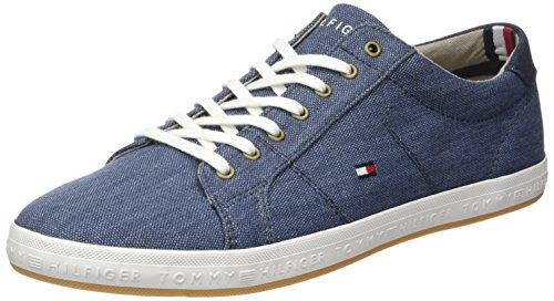 Tommy Hilfiger Herren H2285owell 1d2 Low-Top Blau (Jeans 013)