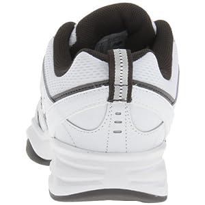 New Balance Men's MX409 Cross-Training Shoe,White/Grey,8.5 D US