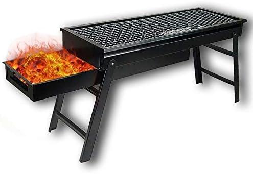 BeiQuan Barbecue Plaque de Carbone tirage Barbecue Charbon Sauvage Domestique de Type tiroir extérieur Pliant Machine à Barbecue Grill est Portable et Pratique