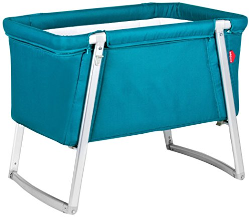 BabyHome Dream Portable Baby Cot - Turqouise