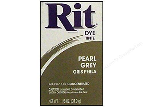 Rit Dye Powder 1 1 / 8 Oz Pearl Grey