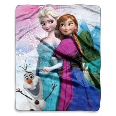 Disney Frozen Sister Seasons Raschel
