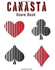 canasta score book: canasta journal log scores keeping for canasta players
