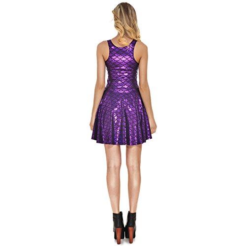 Itopfoxeu Damen Plissee Kleid Violett OKtwtUe4w1 - schooner ... cc1dc06c74