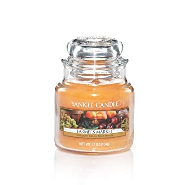 Yankee Candle Farmer's Market Small Jar Candle, Food & Spice Scent