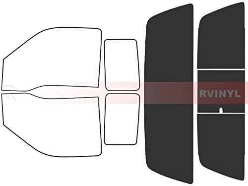 20/% Windshield Strip Rtint Window Tint Kit for Jeep Patriot 2007-2017