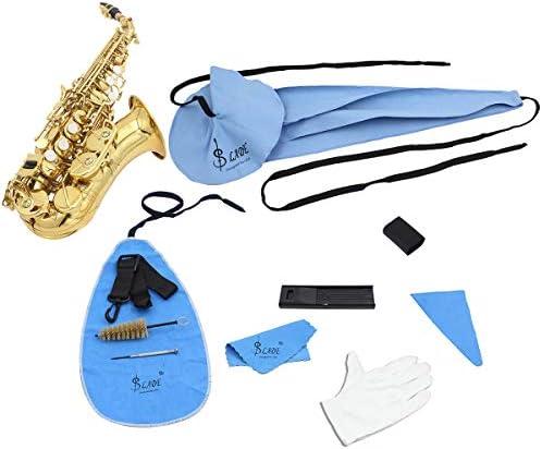 Vierteiliger Anzug für Saxophon Sax Reinigung Tupfer Tuch Set