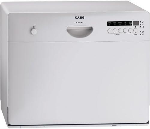 AEG Favorit F55210S0 - Lavavajillas compacto (AAB, 7,5 litros, 0 ...