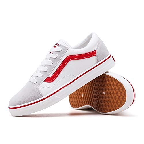 Poliuretano Zapatos Confort Zapatillas Cordones Blanco Primavera Unisex Gris Black Negro Redonda White Caída con PU Punta ZHZNVX wRtCBdqq