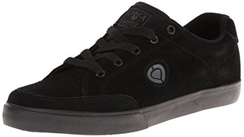 C1RCA Lopez 50 - zapatillas de caña baja de lona unisex negro - negro