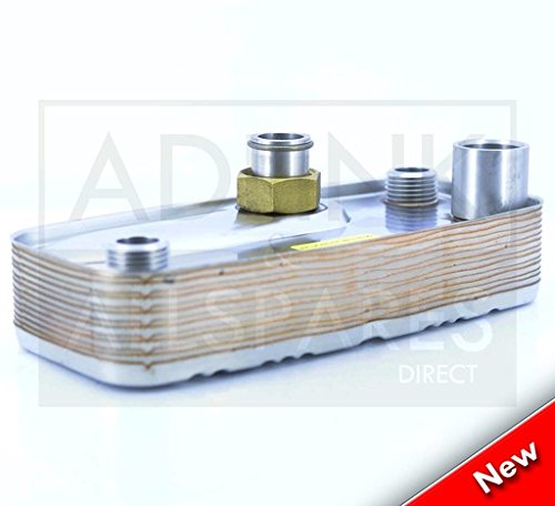 ALPHA CB24 CB24X CB25HE CD24C HOT WATER HEAT EXCHANGER 1.015957 WAS 1.031113