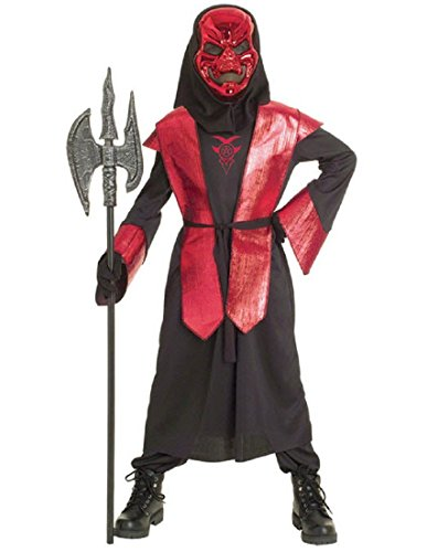 Paper Magic Group Demons of Metal Warlord-1 Boy's Costume, Small 4-6