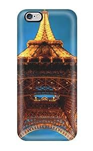 Iphone 6 Plus La Tour Eiffel Print High Quality Tpu Gel Frame Case Cover