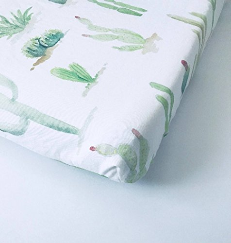 Changing Pad Cover - Cactus by Lullabies and Lollipops