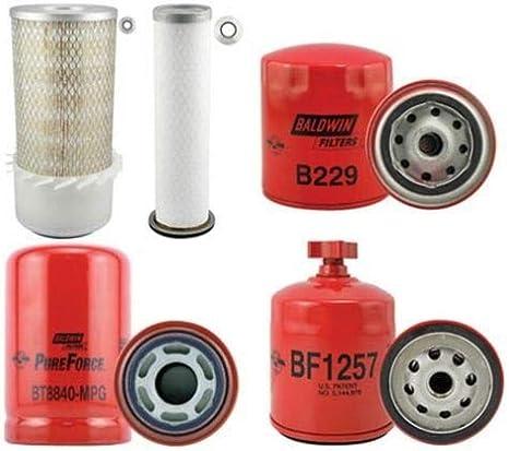 Filter Set für Bobcat  X 341 G Motor Kubota auch einzeln lieferbar