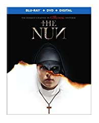 Nun, The (Blu-ray)When a young nun at a cloistered abbey in Romania takes her own life, a priest (Demian Bichir) with a haunted past and a novitiate on the threshold of her final vows (Taissa Farmiga) are sent by the Vatican to investigate. T...