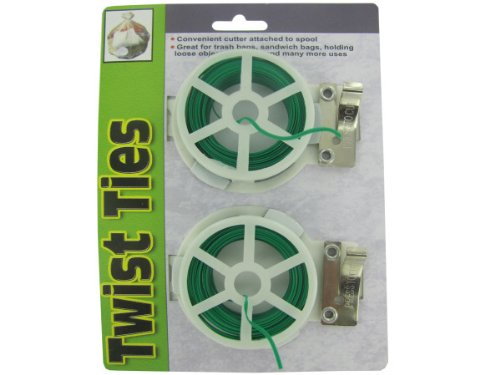 Wholesale twist tie spools with cutter set of 120 for Gardening tools wholesale