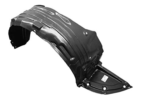 09-15 63842-ZX70A NI1249119 Front Passenger Right Side Fender Liner Inner Panel Plastic Guard Shield ()