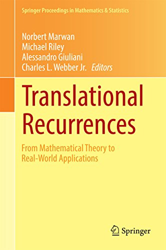 Download Translational Recurrences: From Mathematical Theory to Real-World Applications (Springer Proceedings in Mathematics & Statistics) Pdf