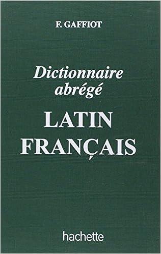 En ligne téléchargement Dictionnaire abrégé latin-français pdf ebook
