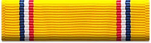 Slide-on Ribbon with Mounting bar: AMERICAN DEFENSE SERVICE