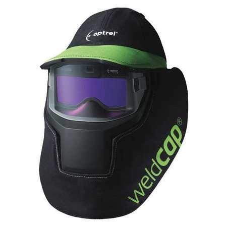 Auto Darkening Welding Helmet, Blck/Green by Optrel