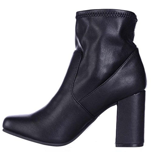 Brand: Seven Dials Seven Dials Womens Teresa Closed Toe Ankle Fashion Boots, Black, Size - Black Teresa