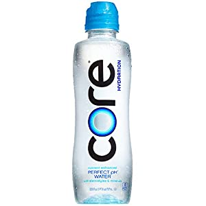 CORE Hydration, 23.9 Fl Oz (Pack of 24), Nutrient Enhanced Water, Perfect 7.4 Natural pH, Ultra-Purified With Electrolytes and Minerals, Sports Cap For Convenience