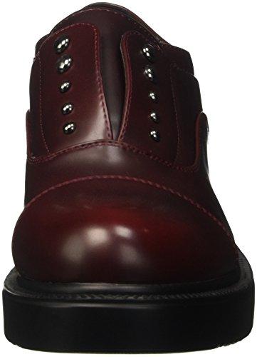 Primadonna Planos 082828601ab, Zapatos Planos Primadonna con Cordones para Mujer Rojo c0ddcd