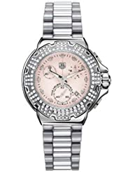TAG Heuer Womens CAC1311.BA0852 Formula 1 Diamond Accented Chronograph Watch