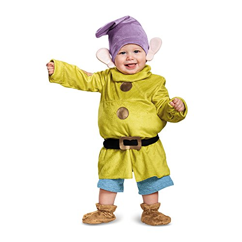 Cute Mommy And Baby Halloween Costumes (Deluxe Dopey Baby Infant Costume - Baby)