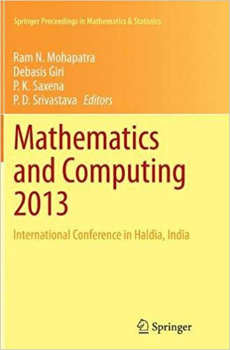 Book Mathematics and Computing 2013: International Conference in Haldia, India (Springer Proceedings in Mathematics and Statistics)