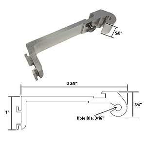 Framed Swing Shower Door Chrome Replacement Pivot Bracket