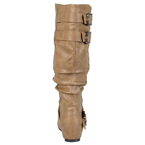 Cammie Calf Taupe Co wc Slouch Women's Wide Boot Brinley wx8AEq44