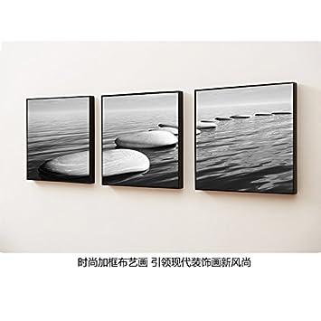 Schon Patined Dekoration Malerei Moderne, Einfache Wohnzimmer Büro Zimmer Buchen  Schwarzen Und Weißen Hintergrund Wand Schwarz
